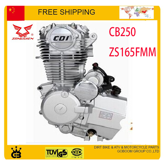 US $299 99 |zongshen 250cc air cooled engine 1 cylinder 4 stroke xmotos  apollo orion kayo mikilon BSE asian wing dirt pit off road bike atv-in  Engines