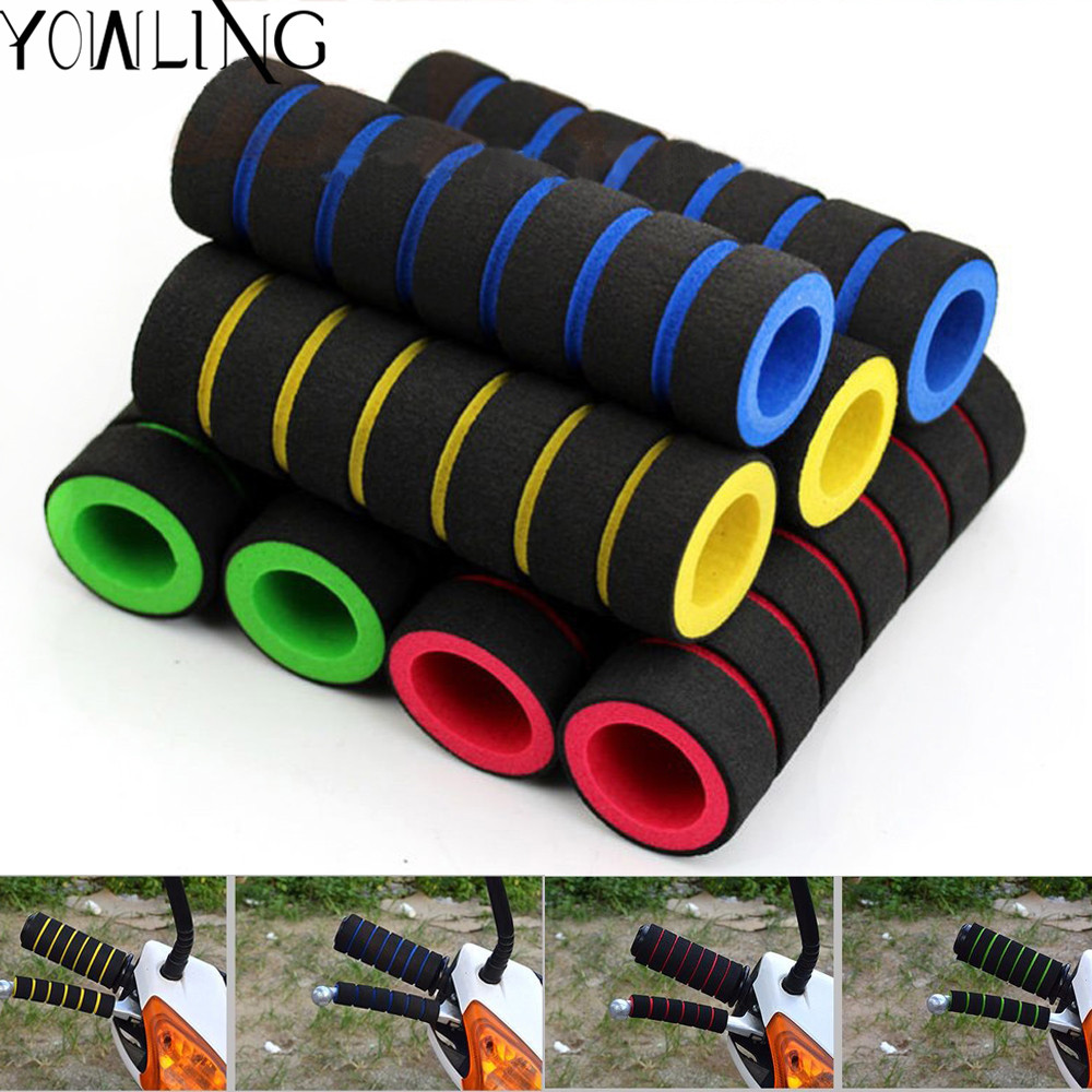 4pcs/lot Motorcycle Handle Bar Foam Sponge Grip Cover handlebar Nonslip for KTM SX EXC XCF SXF XCW EXCF SMR CFR 125 150 450 250