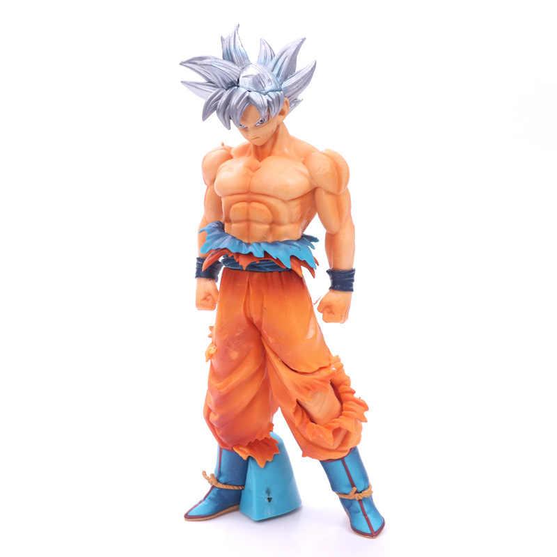 NOVAS Figuras de Dragon Ball z Super Goku Son goku Super Ultra Instinto Dominado (Migatte Não Gokui) modelo de Figura de Ação DO PVC Brinquedos