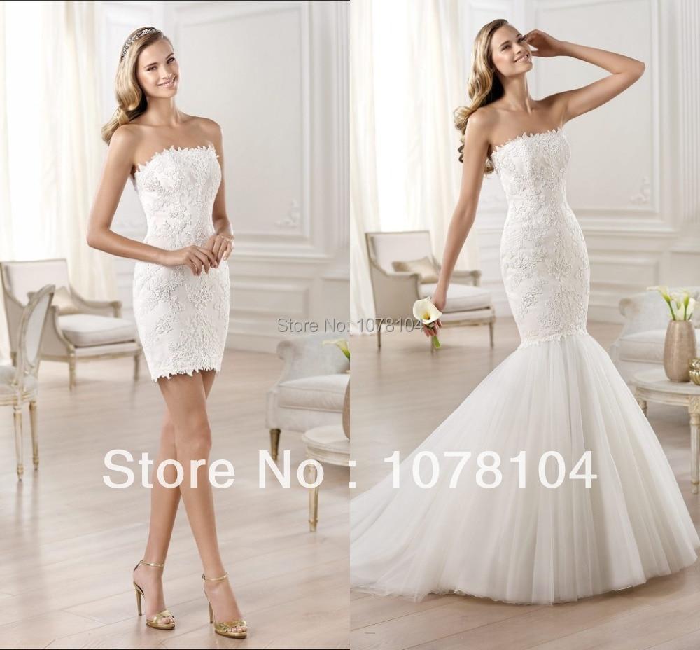 Sex Powder Blue Sequin High Low Detachable Skirt Prom Dress |Dresses With Detachable Skirts