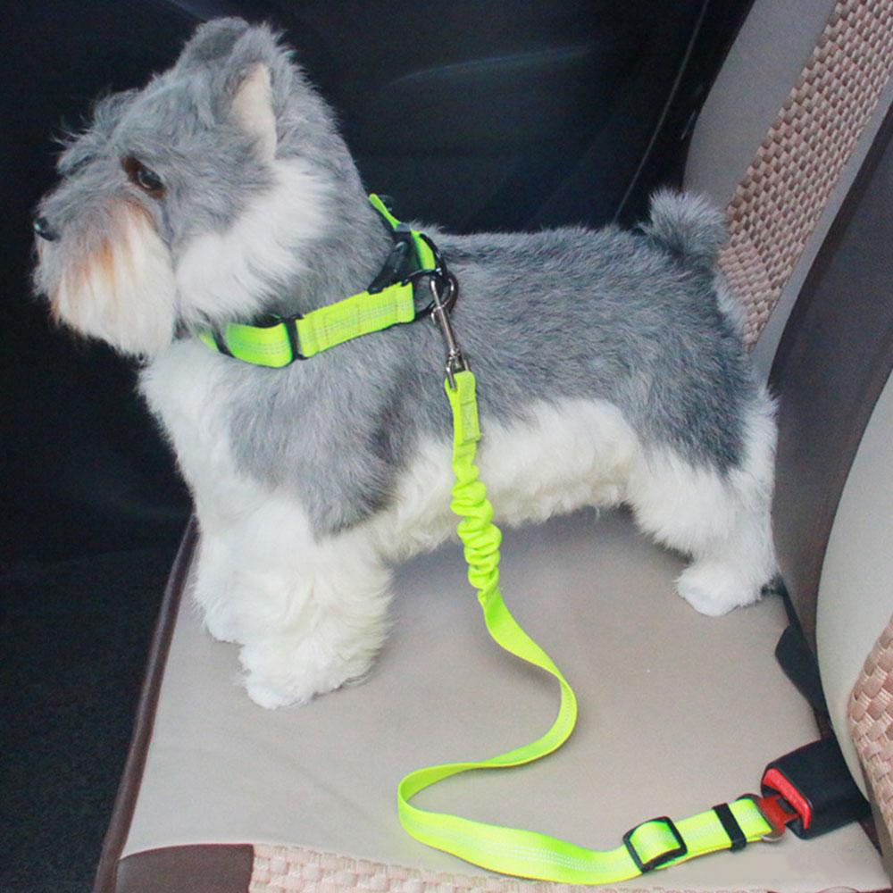 Vehemo Pet Жгут ремень безопасности для животных ремни безопасности для животных нейлон Регулируемый прочный протектор автомобиль кошка собака путешествия удобный