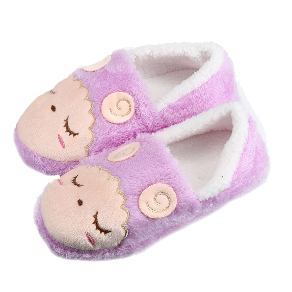2016 New Warm Soft Sole Women Indoor Floor Slippers/Shoes Cotton-Padded Female Warm Yoga Shoes women Home Slippers