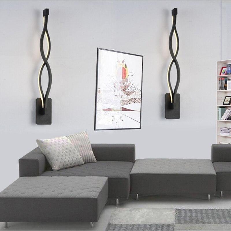 Moderne Kreative 16 Watt Welle LED Wandleuchte Schlafzimmer Neben Innen Wohnzimmer Esszimmer Flur Beleuchtung Dekoration In
