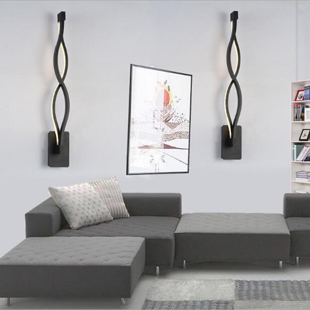 Moderne Kreative 16 Watt Welle LED Wandleuchte Schlafzimmer Neben ...