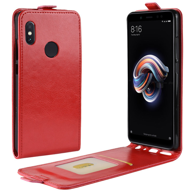 best service 20c97 56c1f US $3.48 14% OFF|For Xiaomi Redmi Note 5 Pro Case Cover Luxury Leather  Vertical Flip Wallet Phone Bag Case For Redmi Note 5 Note5 Pro-in Flip  Cases ...