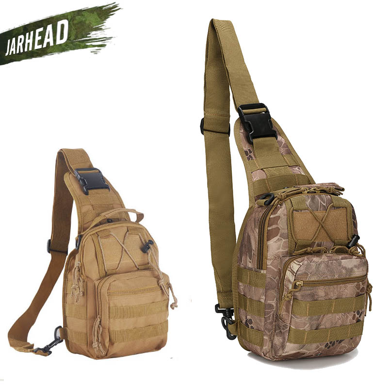 Outdoor-Sport Durable Camping Wandern Umhängetasche Hunter Military Tactical Reiserucksack Military Outdoor Brusttasche