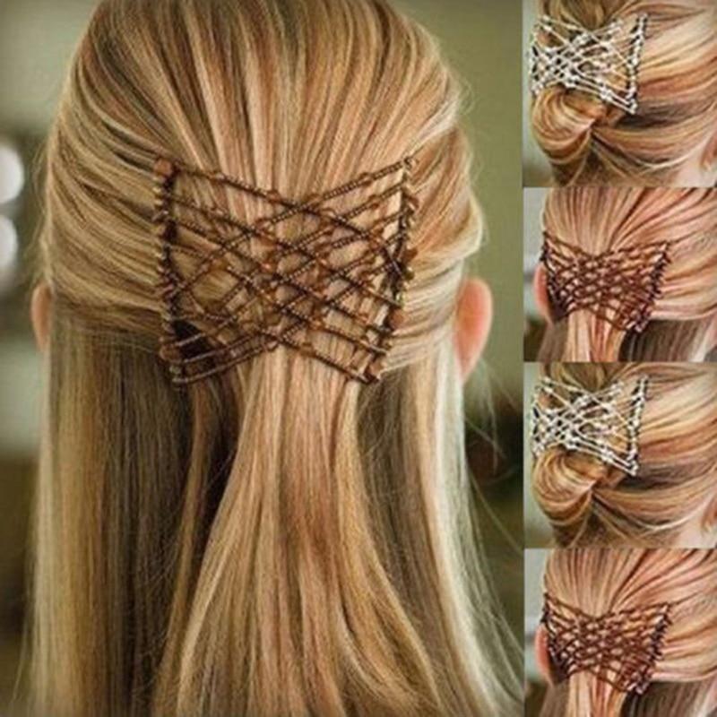 Haar Schmuck Motiviert Mjartoria 2018 Vintage Perle Stretchy Charme Haar Kämme Headwear Metall Kamm Clip Haarnadeln Für Frauen Mädchen Haar Zubehör Geschenk