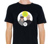 Pet Shop Jungen World Tour 2016 Watt/Termine auf Der Rückseite T-Shirt Größe: S-to-3XL O Neck T-shirts Männlichen Niedrigen Preis Steampunk Top T