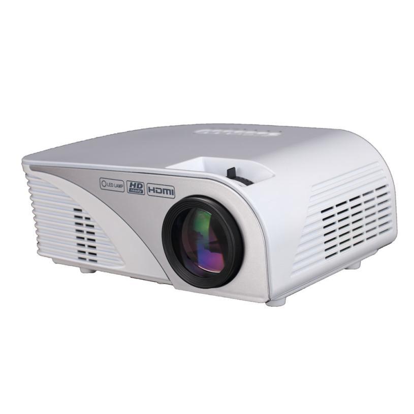 Proyector LCD LED Nueva LED Home MulitMedia jan16 Teatro Cine Mini Proyector Par