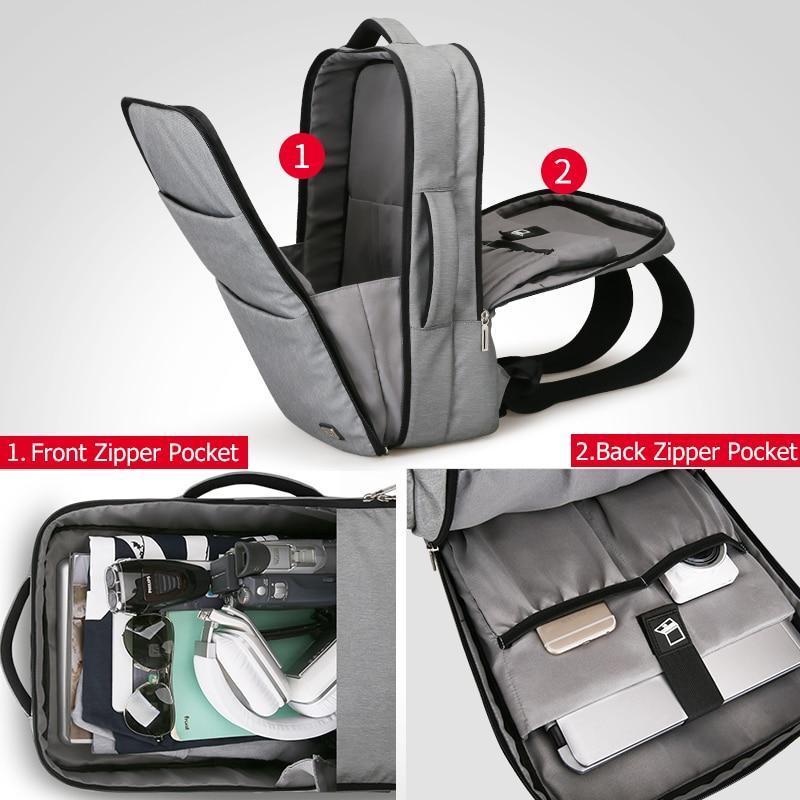 Mark Ryden Man Laptop Rugzak Zakelijke Tassen met Usb poort Opladen School Travel Pack Past 15.6 Inch Laptop-in Rugzakken van Bagage & Tassen op  Groep 3