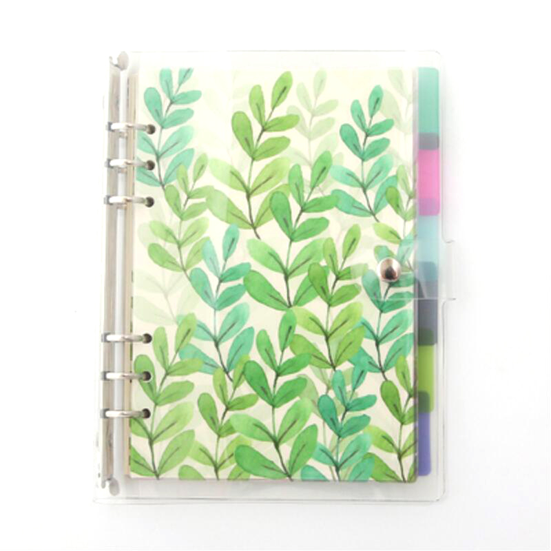 A5 Green Tree Bullet Journal Dotted 6 Holes Cute Stationary 80 sheets paper(Mix Grid, Dot Grids, Blank, Line Page) l228 page 6