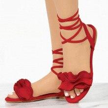 2020 Summer Women Sandals Ankle Strap Gladiator San
