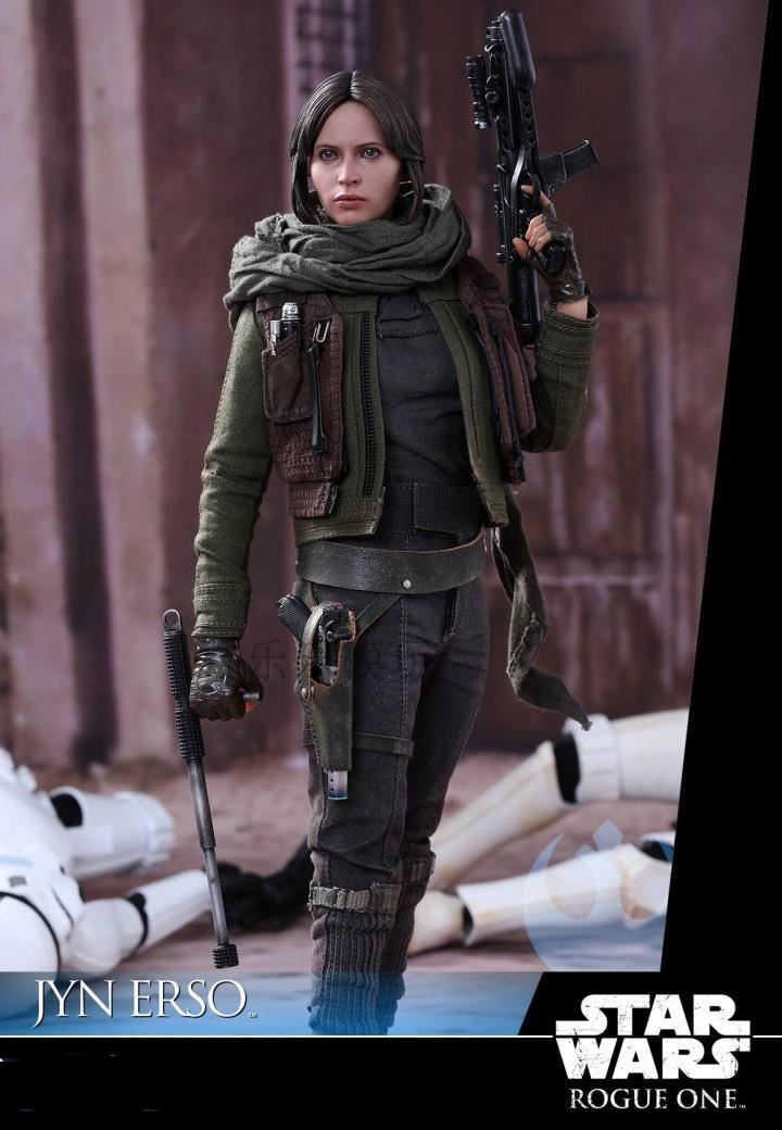 1 6 Scale Female Head Sculpt Accessory Rogue One A Star Wars Story Jyn