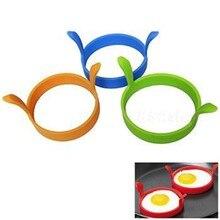 1 шт.,, пищевая кухня, круглая силиконовая яичная жарка, жареная печь, Poacher, блинница, форма для кольца, инструмент высокого качества