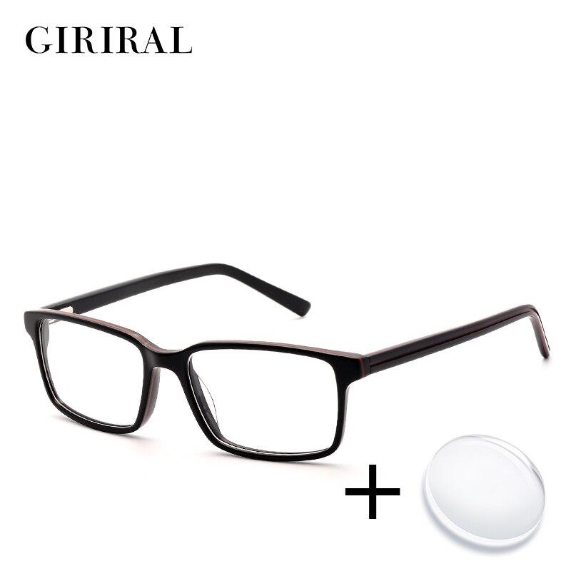 Accetate hommes prescription lunettes rétro couleur vue myopie transparent  ordinateur lecture claire optique lunettes   BC3577 1 dans Prescription  Lunettes ... 136c30ecc88d