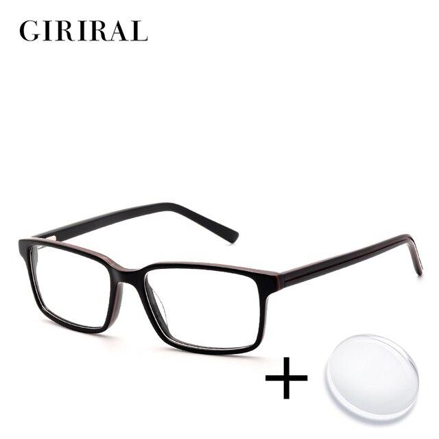 Accetate hommes prescription lunettes rétro couleur vue myopie transparent  ordinateur lecture claire optique lunettes   BC3577 c4f47a6cf36a