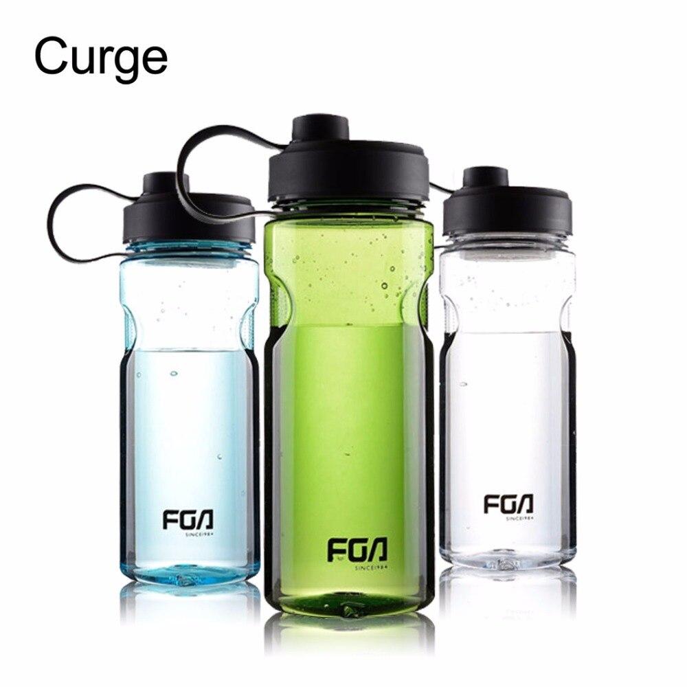 CURGE Grande Capacité En Plein Air Sports de Remise En Forme Portable Shaker Mon En Plastique Potable Bouteilles D'eau SANS BPA 800 ml 1000 ml