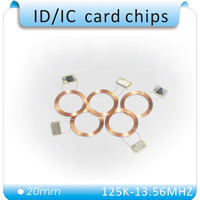 Free shipping 50pcs/lot 13.56MHz rfid tag proximity antenna with chip ic tags nfc 1k tags (Compatible with s50)