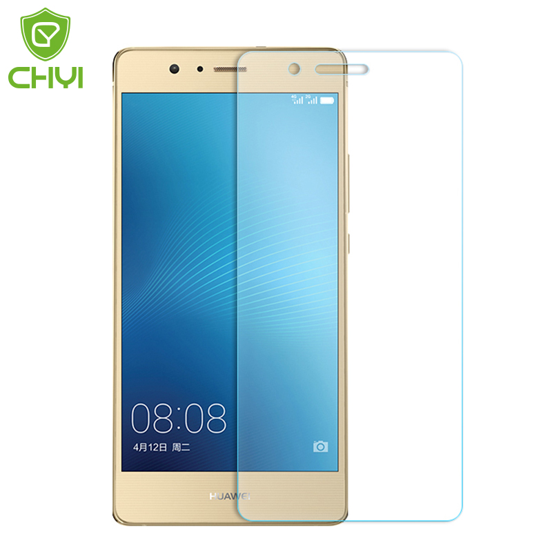 10 piece Tempered glass For Huawei P9 lite G9 lite Y3II Y5II Honor 6x Screen Protector CHYI Oleophobic Coating Protective Film