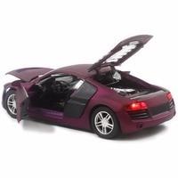 아이 장난감 자동차 R8, 1/32 다이 캐스트 모델 자동차 사운드 및 라이트 장난