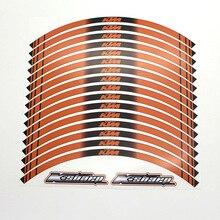 K-sharp 16 x толстый край внешнего обода стикер полосы отличительные знаки для ktm ktm