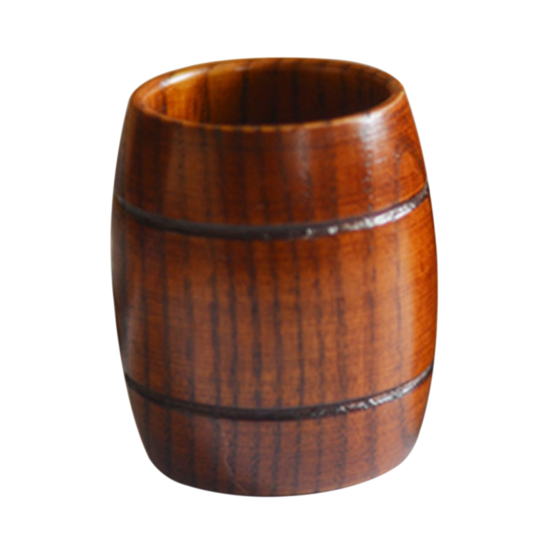 Japanese Wooden Anti-scald Barrel Beer Cup Tea Drinking Cup Drinkware Home Decor