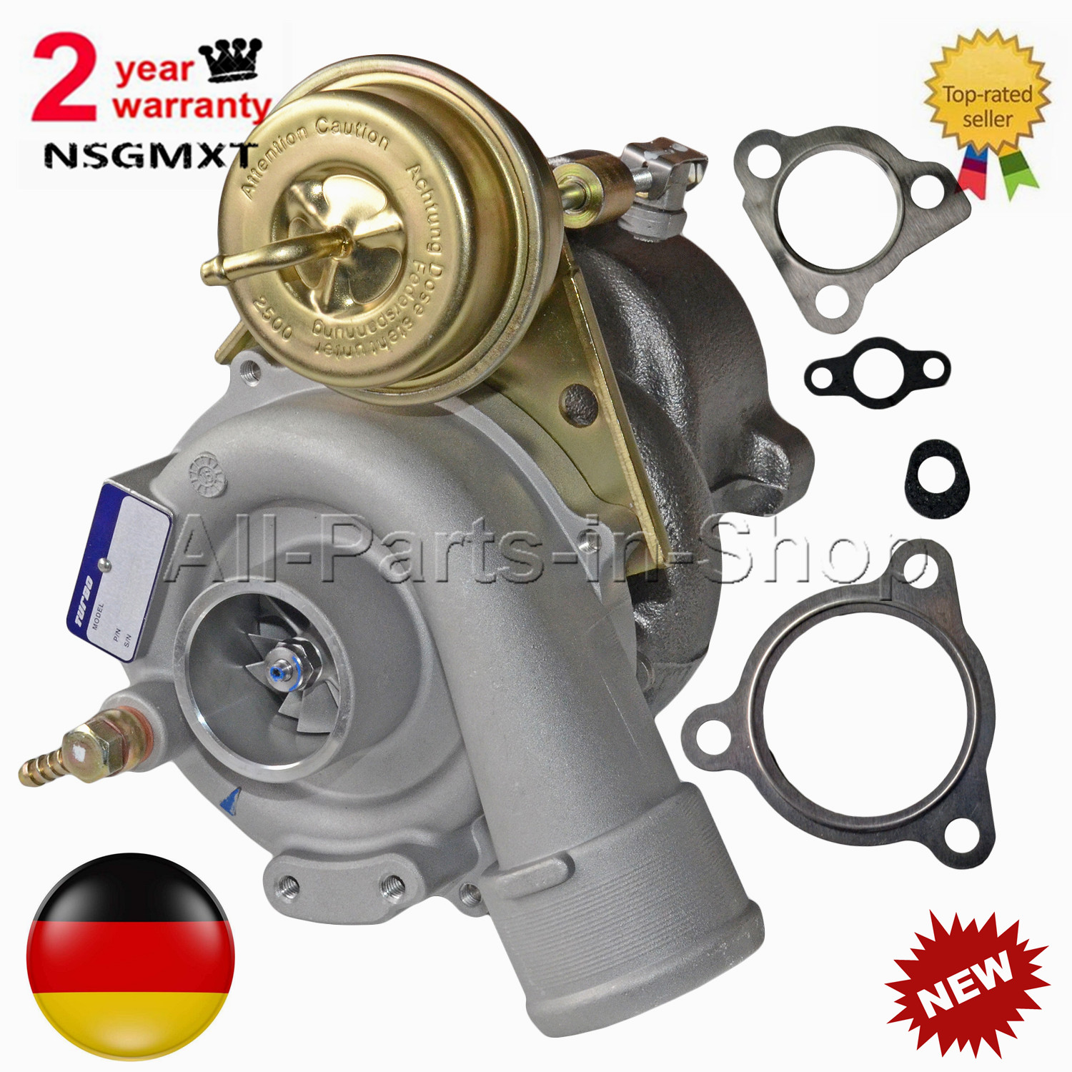 AP01 New Turbo Charger For Audi A4 A6 1.8T VW Passat Gti k03 ANB APU 058145703J 058145703JV 058145703JX 058145703C 058145703E image