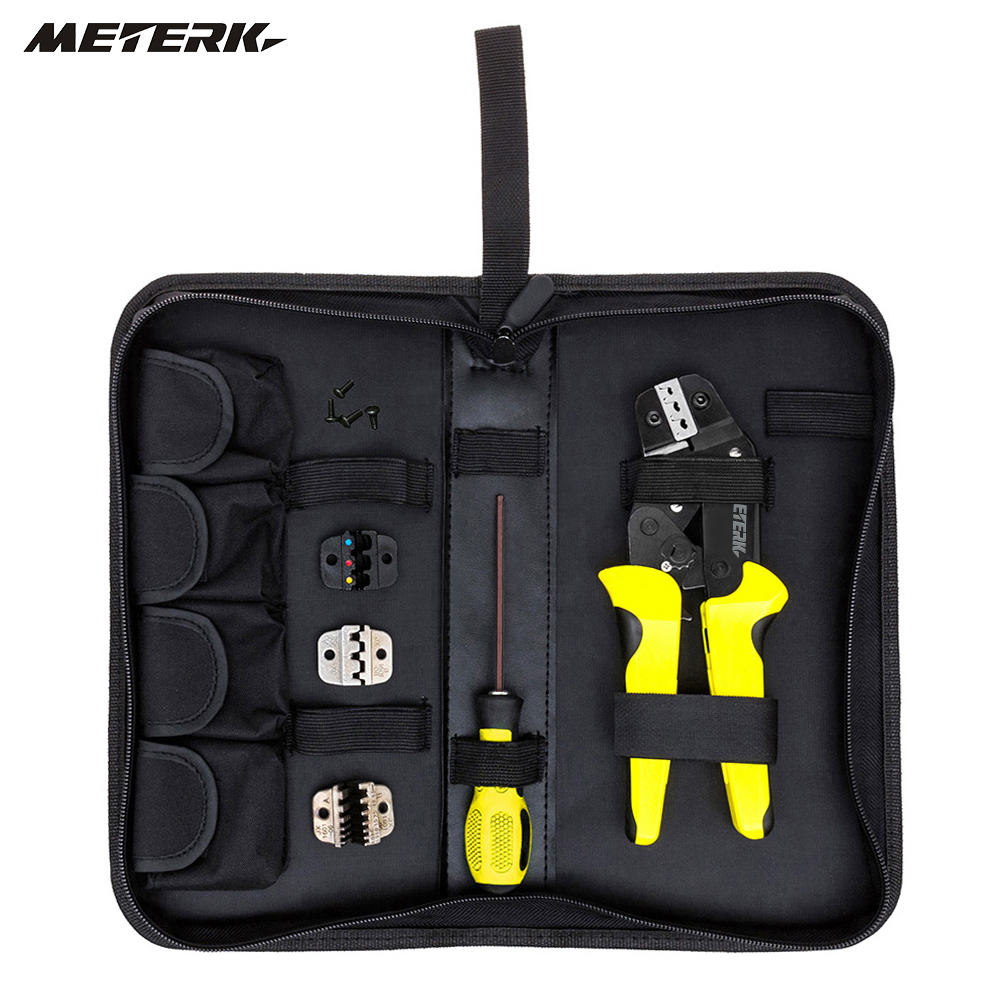 цена на 4 In 1 multi tool crimping tool Kit Wire Crimper + Screwdiver +end Terminals Engineering Ratchet Terminal Plier for hand repair