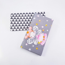 Cotton Princess Print Twill Fabric Child Clothing Patchwork Dormitory Fat Sheet Material Textile