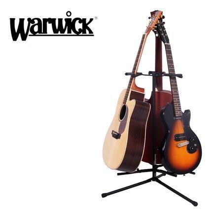 Rockstand by Warwick Autoflip Guitar Instrument Stand Hold 3 Guitars цены онлайн