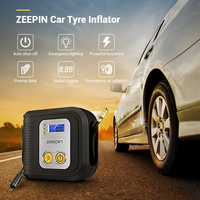 Digital LED Display Car Tire Inflatable Pump 12V Eletric Air Compressor 150psi 120W Tyre Inflator for Vehicle Camping Motor Bike