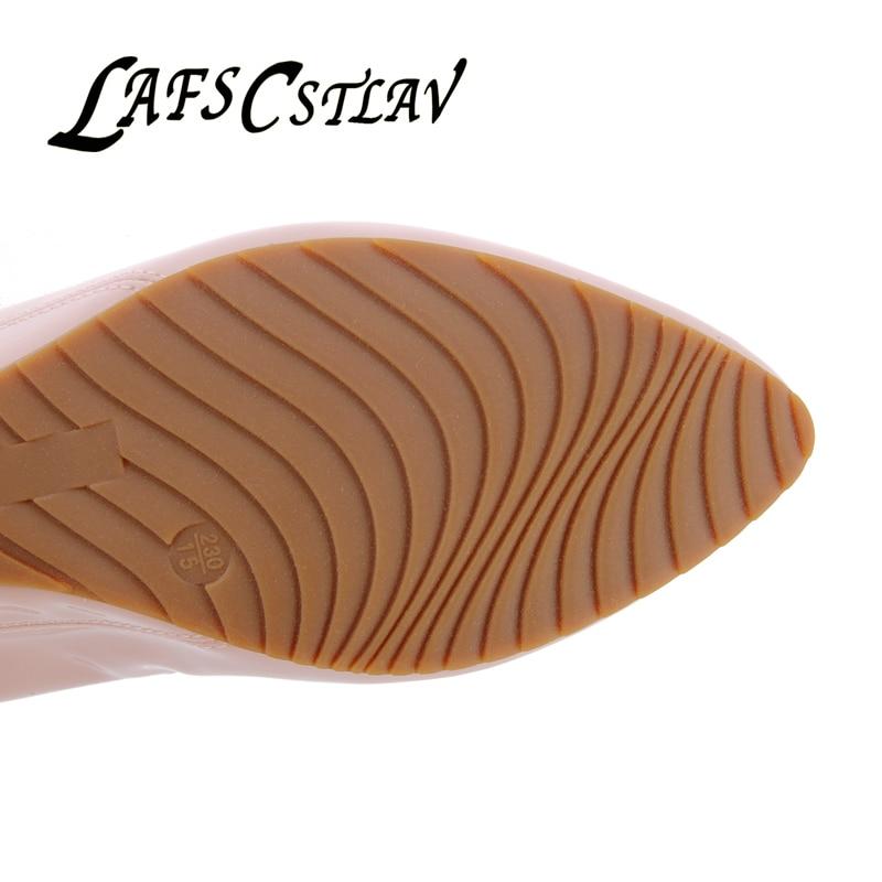 LAFS CSTLAV Sweet Loafer Wedge Heel Mujeres Cómodo Casual Ballet - Zapatos de mujer - foto 4