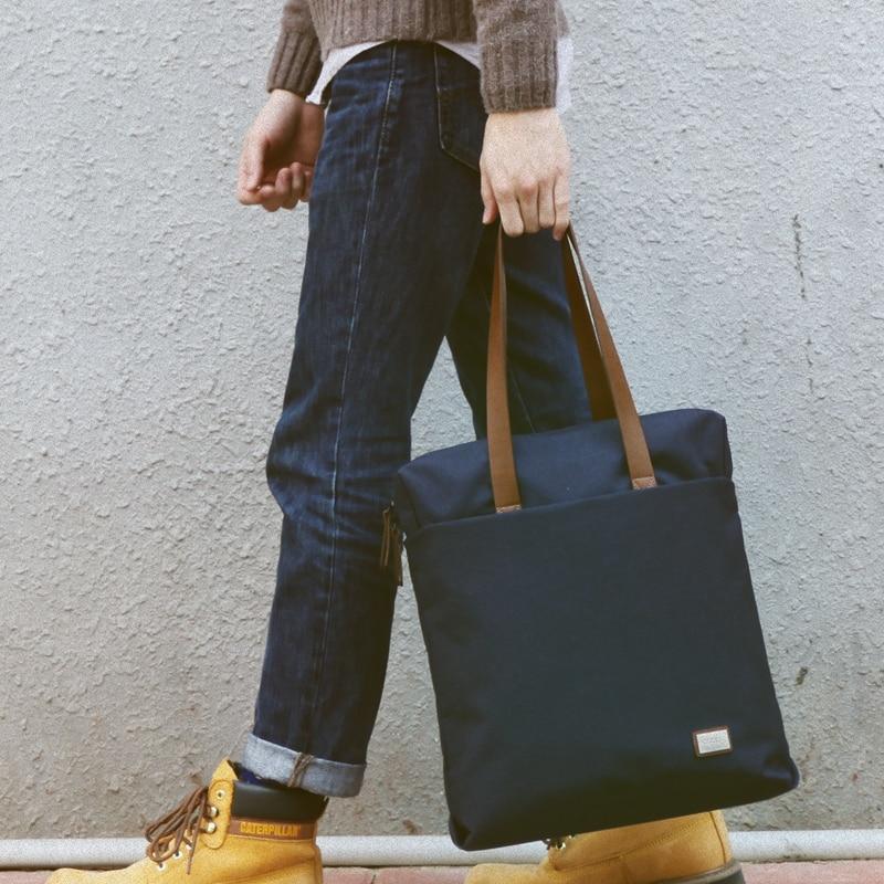 Nouveau groupe 13/14/15 pouces Portable sac à main pour ordinateur Portable sac à bandoulière Messenger ordinateur Portable cas sacs décontracté fourre-tout pour hommes femmes