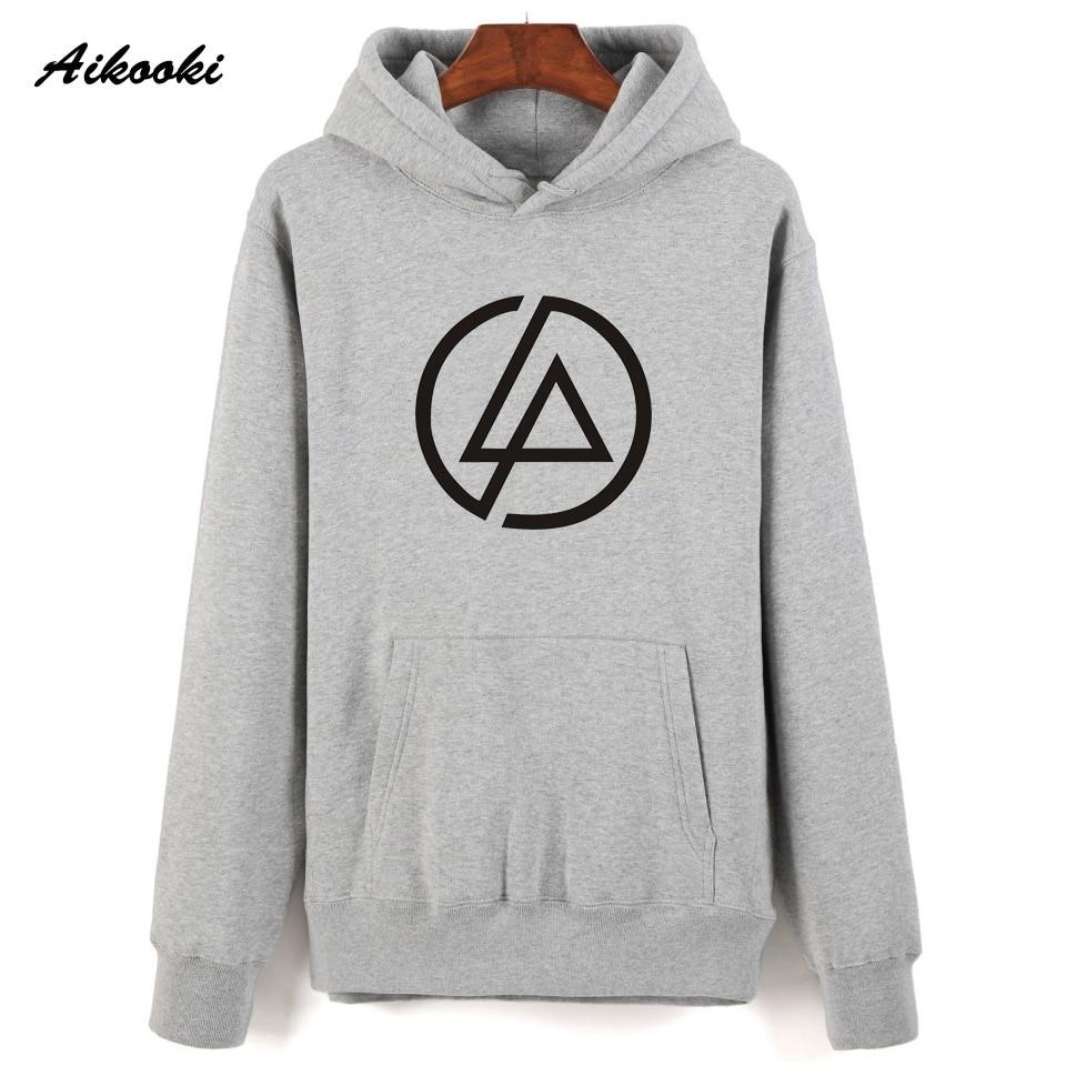 Линкин Парк новый толстовки Для мужчин Aikooki Новый Повседневное принт Linkin park Толстовка wo Для мужчин/Для мужчин зима Hoodied мальчиков XXS