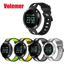 IP68 водонепроницаемый DM58 сердечного ритма Смарт часы браслет артериального давления фитнес-трекер спортивные часы для IOS Android PK GT08 DZ09