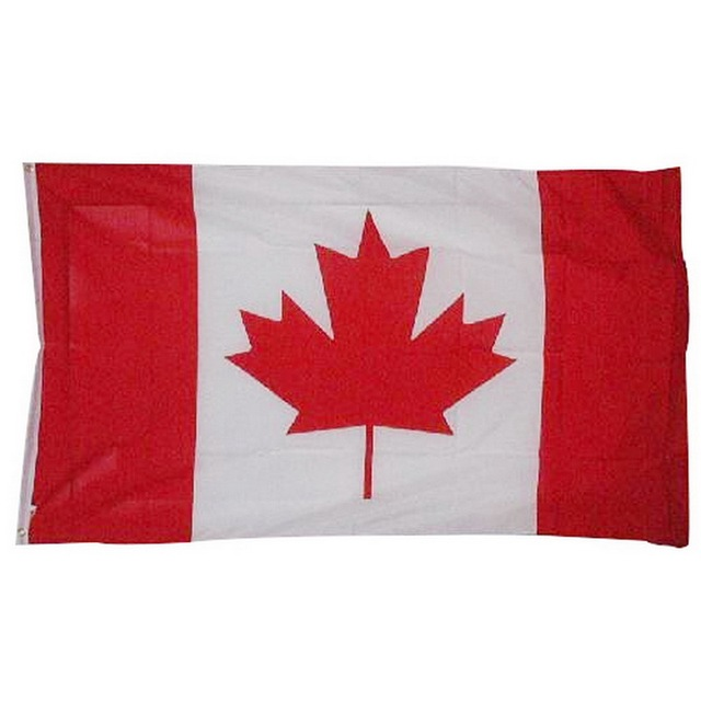 1pcs canadian flag canada maple leaf banner polyester outdoor flags
