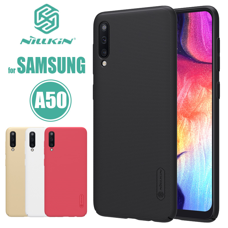 for Samsung Galaxy A50 Case Nillkin Ultra Slim Hard PC Back Covers Super Frosted Shield for Samsung Galaxy A50 Nilkin Case Capa