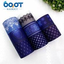 OOOT BAORJCT 177205 38mm 10yard/lot Cartoon Ribbons Thermal transfer Printed grosgrain Wedding Accessories DIY handmade material