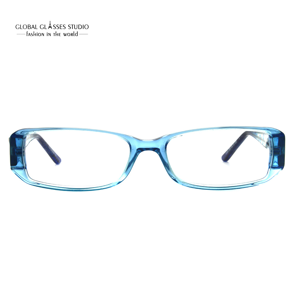 0239f7261e Kids Acetate Eyeglasses Crystal Blue Color Boy Glasses Frame Flexible Tip  Star Pattern Good Quality 9153-in Eyewear Frames from Apparel Accessories  on ...