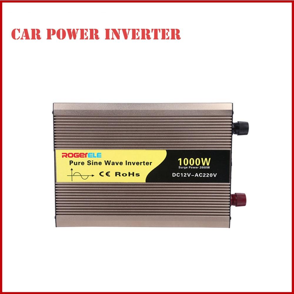 2019 Newest 1000w Pure Sine Wave Power Inverter Board Dc 12v to Ac 220v Car Converter Transformer Electric Inverter