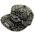 New 2016 Doodle Eyes Punk Baseball Caps Boys Girls Hip Hop Street Dance Hats 56-60cm