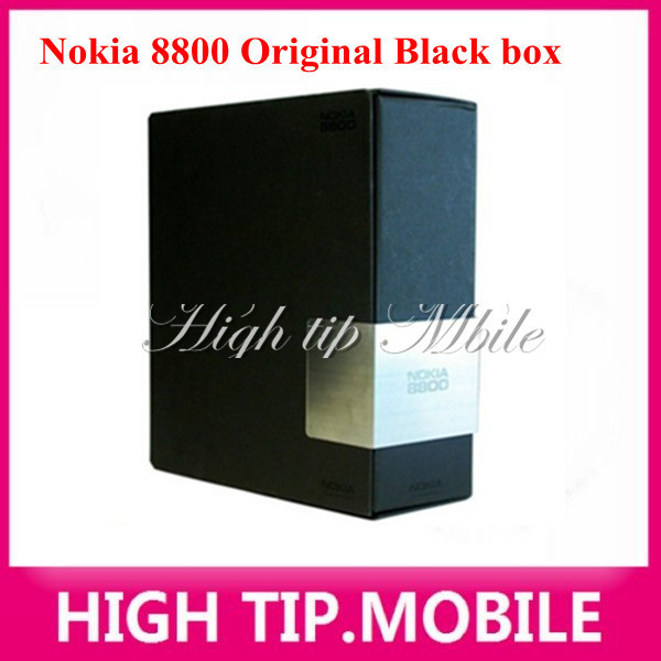 Nokia original 8800 gold cell phone English or russian keyboard with desktop charger leather case strap Freeship Refurbished 6