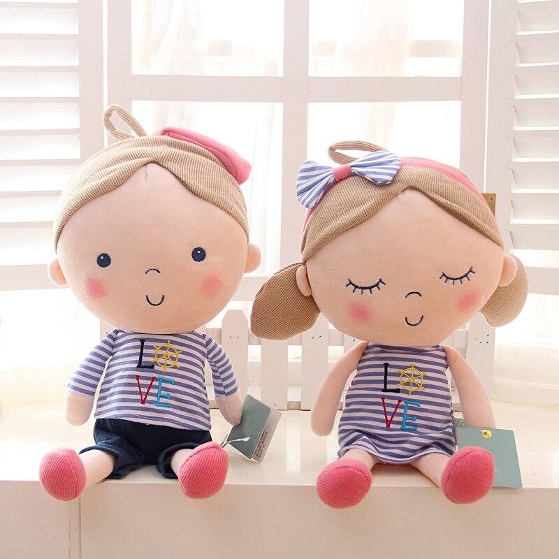 New Plush font b Toys b font 30cm Kawaii Stuffed Animal Plush Sleeping Cushion Baby Bed