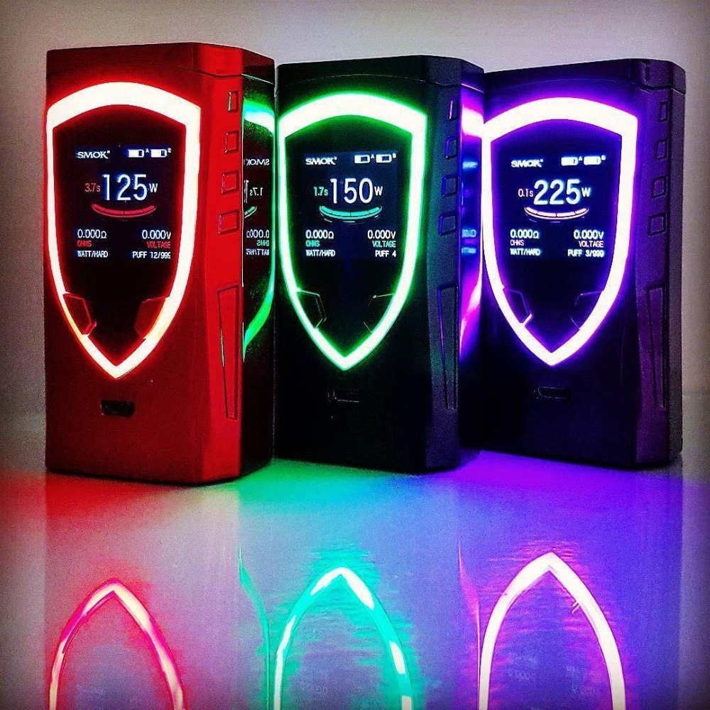 все цены на Original SMOK Procolor MOD 225W TC Box Mod Electronic Cigarette Vaporizer SMOK Mod VS Procolor Vape Kit