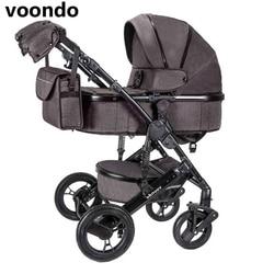 vonndo детская коляска 2in1зиняя коляска двунаправленный высококачественный амортизатор может сидеть качества бесплатно в RU