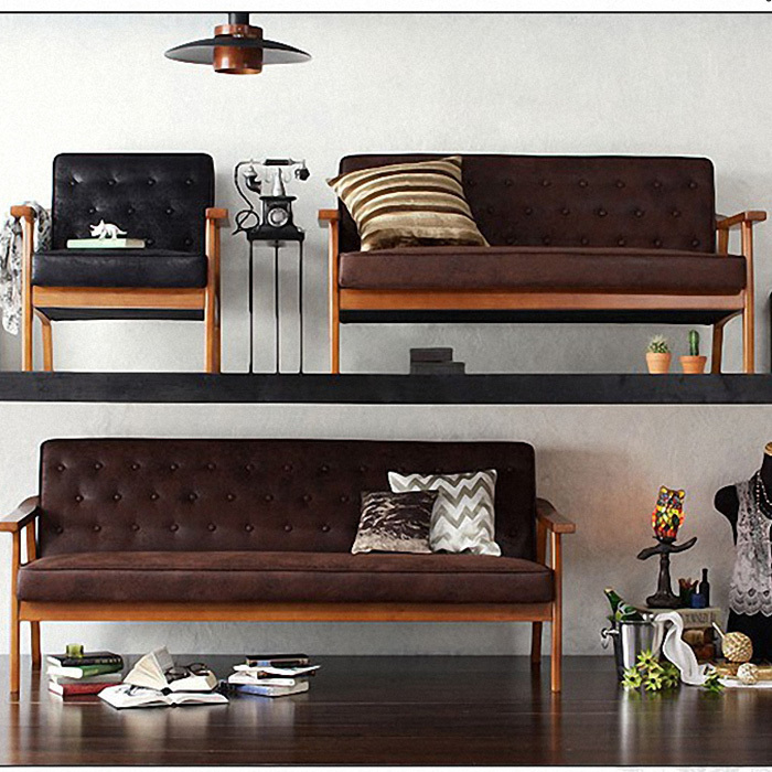 Enjoyable Retro Nostalgia Personality Matte Leather Furniture Wood Gmtry Best Dining Table And Chair Ideas Images Gmtryco
