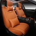 Alta qualidade De Couro especial tampa de Assento Do Carro Para Fiat Linea Punto Uno Palio Bravo 500 Panda acessórios do carro SUV carro-styling