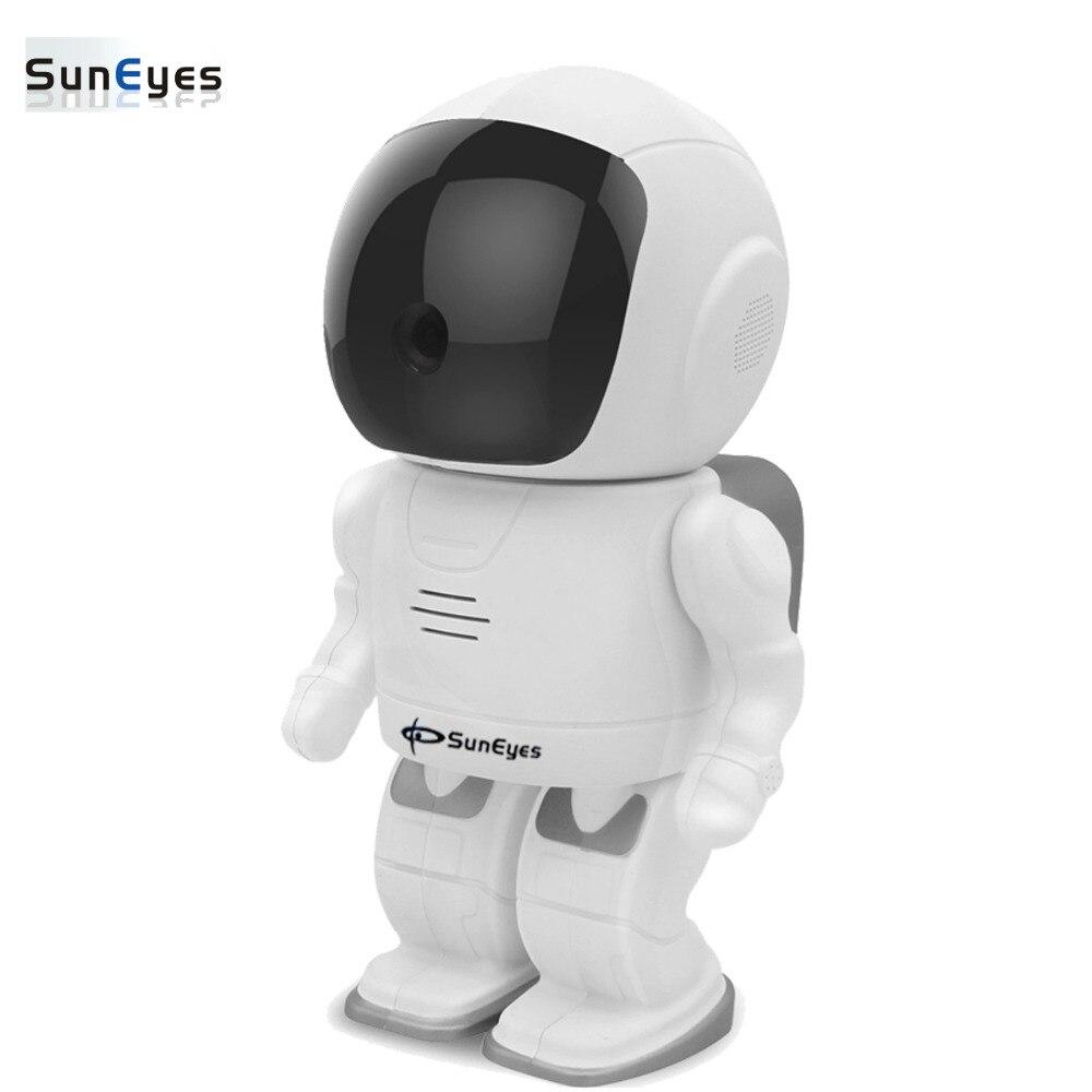 SunEyes SP-S1805W Wifi IP Caméra Robot 1080 P 2.0MP Full HD Sans Fil Pan/Tilt Rotation IR Nuit Deux Façon Audio