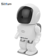 SunEyes SP-S1805W Wifi IP Camera Robot 1080P 2.0MP Full HD Wireless Pan/Tilt Rotation IR Night Two Way Audio