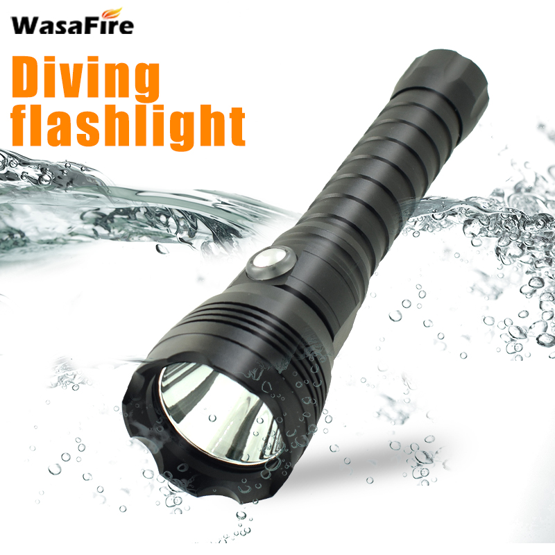 цена 3500 Lumens XHP70 2.0 LED Diving Flashlight Tactical Flash Light Linternas Underwater 100m Waterproof Lamp 18650 Scuba Torch